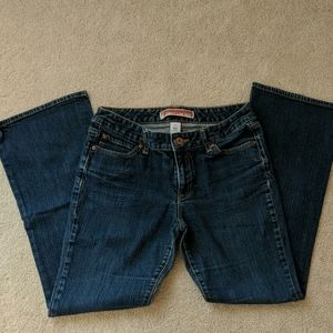 GAP jeans, curvy low-rise
